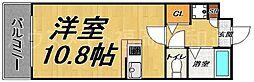 アスティオン平尾[3階]の間取り