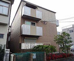 大阪府枚方市楠葉野田の賃貸アパートの外観