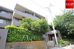 神奈川県横浜市神奈川区旭ケ丘の賃貸マンションの外観