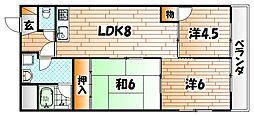 進藤第2ビル[3階]の間取り