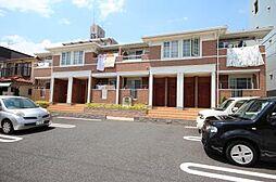 愛知県名古屋市中川区西伏屋2の賃貸アパートの外観