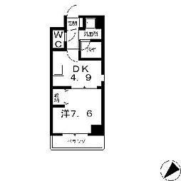 Greenwich House[8階]の間取り