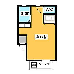 メゾン妙興寺[2階]の間取り