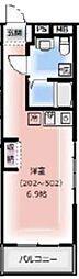 東武東上線 東武練馬駅 徒歩7分の賃貸マンション 3階ワンルームの間取り