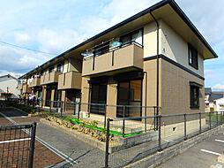 サニーハイツ田寺[1階]の外観