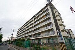 大阪府茨木市平田1丁目の賃貸マンションの外観