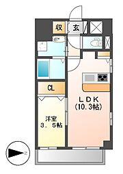 トレフルコート[2階]の間取り