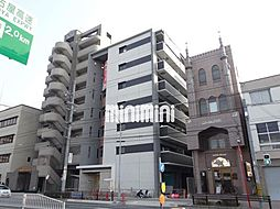 愛知県名古屋市中村区本陣通2丁目の賃貸マンションの外観
