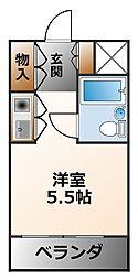 (分譲)朝日プラザ甲子園[5階]の間取り