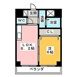 ソルトシティ浜松[2階]の間取り