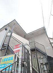 埼玉県富士見市東みずほ台4丁目の賃貸アパートの外観