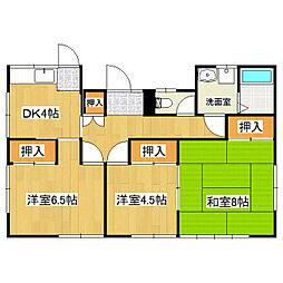 [一戸建] 長野県松本市両島 の賃貸【/】の間取り