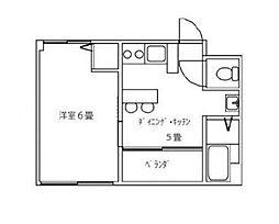 メープルリンク弐番館[2階]の間取り