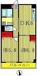 ルナパーク21[2階]の間取り