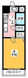 プレアール原田II[6階]の間取り