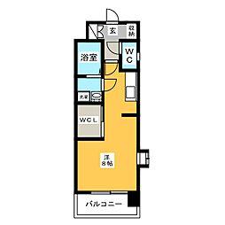 エンクレスト博多駅南III[9階]の間取り