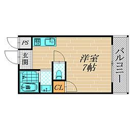 MAマンション[20A号室]の間取り