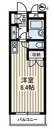 ASAKURAマンション[302号室号室]の間取り