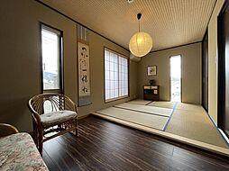 嵐山一戸建住宅 5LDKの居間