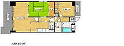 新神戸ネクステージ[2階]の間取り