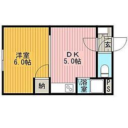 クレドールマンション[4階]の間取り