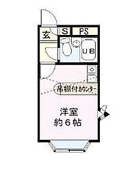 埼玉県さいたま市桜区大字下大久保の賃貸アパートの間取り