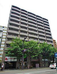 宮城県仙台市青葉区上杉2丁目の賃貸マンションの外観