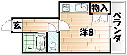 マイニチビル三六[4階]の間取り
