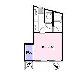 グリーンヒルズ1[1階]の間取り