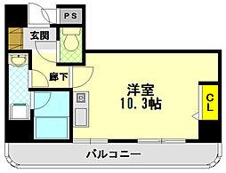 エトワール山手KOYAMA[2階]の間取り