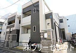 クレフラスト清水B棟[1階]の外観