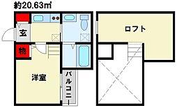 Lines Style[1階]の間取り