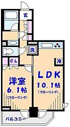 ParkAxis西船橋本郷町[7階]の間取り