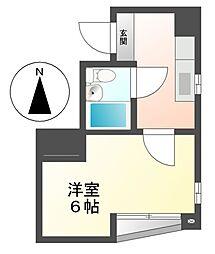 コーポ長谷川[3階]の間取り