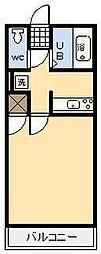 メゾンロワール[603号室]の間取り