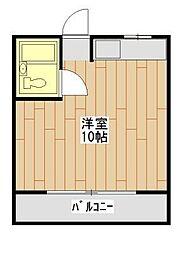 信栄コーポ[3階]の間取り