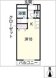 サンハイムASAHI[1階]の間取り