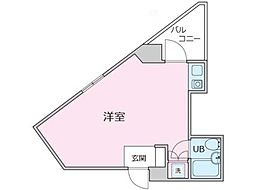 ステラコート武蔵小金井[2階]の間取り