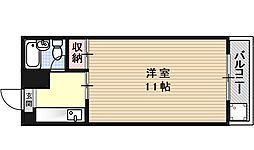 SAKIZOメゾン北花山[102号室号室]の間取り