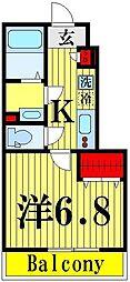 リブリ・竹ノ塚  I[1階]の間取り