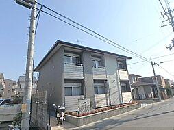 京福電気鉄道北野線 常盤駅 徒歩6分の賃貸アパート