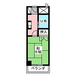CASA NOAH名古屋II[3階]の間取り