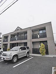 埼玉県川越市岸町3丁目の賃貸アパートの外観