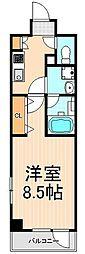 フュージョナル浅草DUE[7階]の間取り