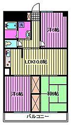 第3武笠ビル[2階]の間取り
