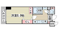 M・PARK・WEST[307号室]の間取り