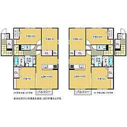 笹賀D-room(仮)[2階]の間取り