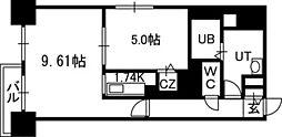 PRIME URBAN札幌医大前[805号室]の間取り
