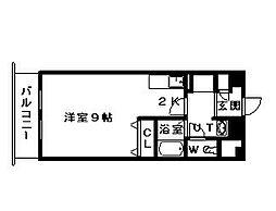 サテラ北34条[5階]の間取り