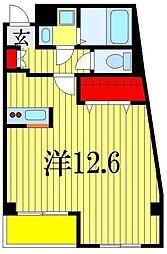 Liguria[4階]の間取り
